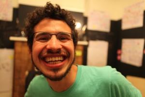 Smiley Bold smile headshot
