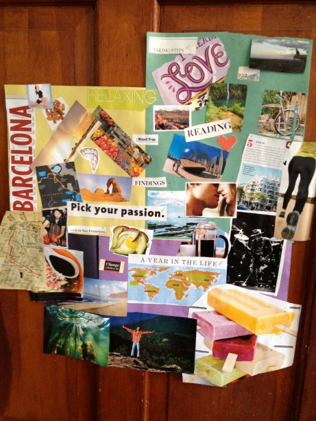 Smiley's Vision Board for 2012